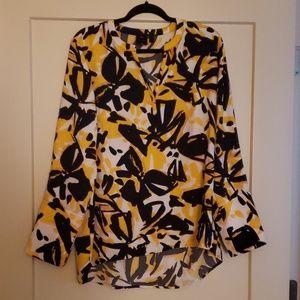 Rafaella Bold Print Blouse
